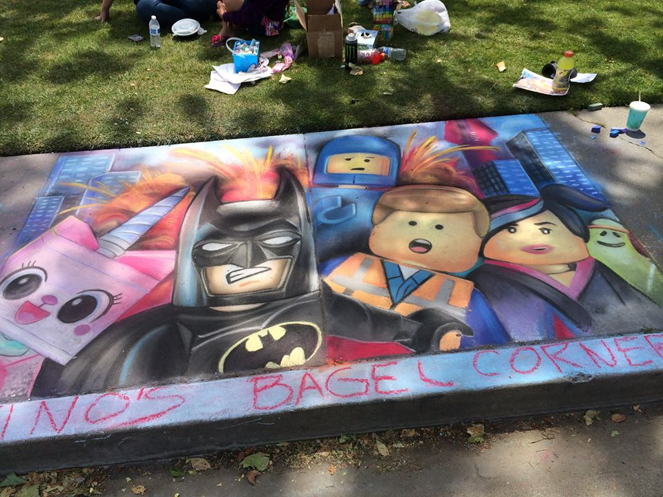 A Chalk in the Park